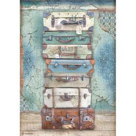 Stamperia Reispapier A4-Atelier Des Arts DFSA4547
