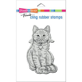 Stampendous! Stempel-Sitting Kitty