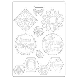 Stamperia-Soft Mould A4-Atelier Des Arts K3PTA495