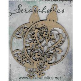 Scrapaholic-Laser Cut Chipboard-Lace Ornaments