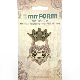 Mitform-Metall Charms/Corners 8