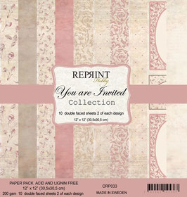 """Reprint-You are Invited Collection 12x12"""""""