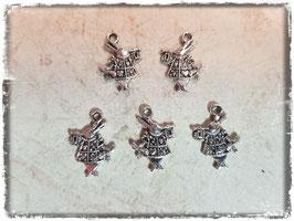 Metall Charms-Alice im Wunderland Bronce 1/211