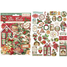 Stamperia-Die Cuts Classic Christmas