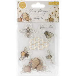 Craft Consortium-Clear Stamps/Tell the Bees