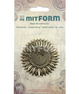 Mitform-Metall Charms/Flowers 3