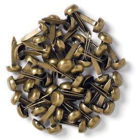 Doodlebug-Mini Brads-Antique Brass