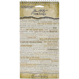Idea-Ology by Tim Holtz/Sticker Book-Clippings Sticker Book