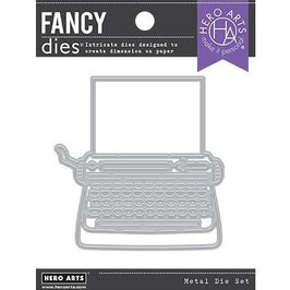 Hero Arts Stanzform-Typewriter