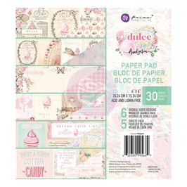 Prima Marketing-Dulce/Paper Pad 6x6""