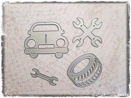 Stanzform-Auto Werkstatt 4004