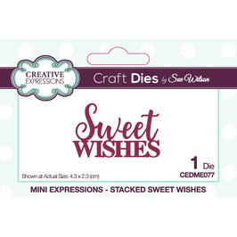 Creative Expressions Stanzform-Sweet Wishes