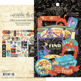 Graphic 45-Cardstock Life's a Journey