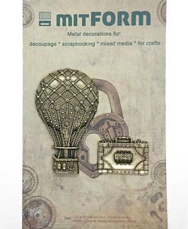 Mitform-Metall Charms/Travel 4