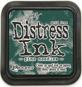 Distress Ink-pine needels
