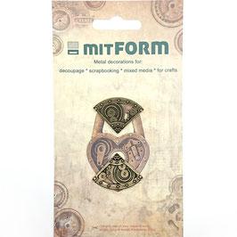 Mitform-Metall Charms/Corners 1