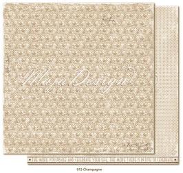 "Maja Design - Celebration - Champagne - 12x12"""
