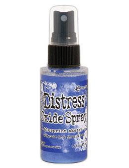 Distress Oxide Spray-blueprint sketch