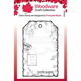 Woodware-Stempel/Tiny tag