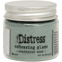 Ranger by Tim Holtz-Distress Embossing Glaze/weathered wood