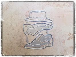 Stanzformen-Herren Schuhe/Hut 1116