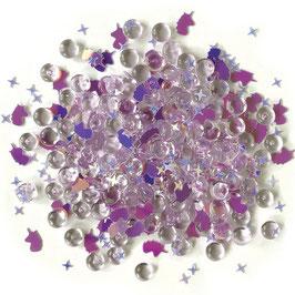 Buttons Galore-Shimmerz Shaker Elements/Unicorn Legend 18gr.