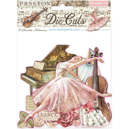 Stamperia-Die Cuts Passion