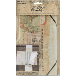 Idea-Ology by Tim Holtz/Travel Folio