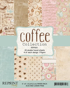 """Reprint-Coffee Collection 6x6"""""""