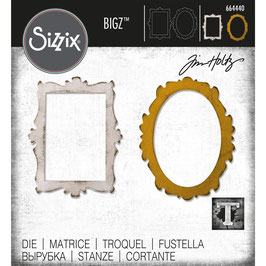 Sizzix by Tim Holtz Bigz-Stanzform/Decor Frames