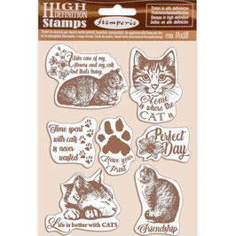 Stamperia-Stempel/Cats