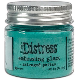Distress-Embossing Glaze/salvaged patina