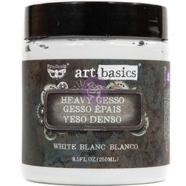 Finnabair-Heavy Gesso White/Dose 250ml