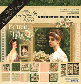 Graphic 45 Deluxe Collector's Edition-Portrait of a Lady