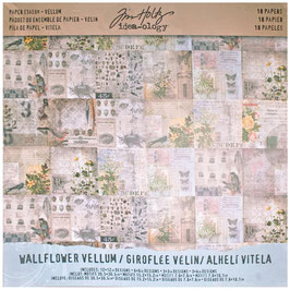 Idea ology by Tim Holtz-Vellum Wallflower 12x12""
