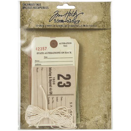 Idea-Ology by Tim Holtz/Salvaged Tags