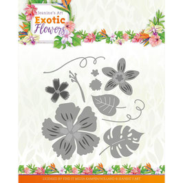 Find It Trading Stanzform-Exotic Flowers/Flowers & Leafs