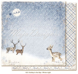 Maja Design-Holiday in the Alps/Winter night