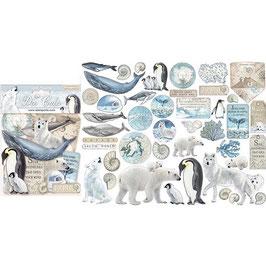 Stamperia-Die Cuts Arctic Antarctic