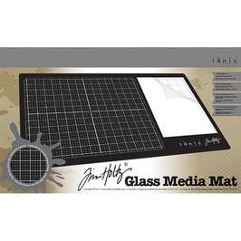 Tim Holtz-Glass Media Mat 60x30cm/Rechtshänder