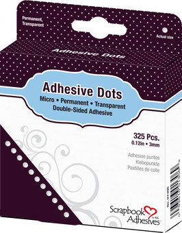 Scrapbook Adhesives-Klebepunkte Micro