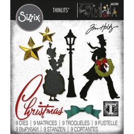 Sizzix by Tim Holtz Thinlits-Stanzform/Vault Series: Christmas 2021
