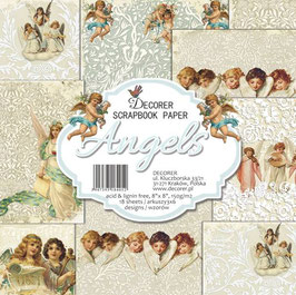 Decorer-Paper Pad Angels 8x8