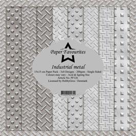 "Paper Favourites-Industrial Metal 6x6"""