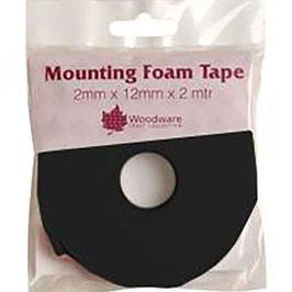 Woodware-3D Mounting  Foam Tape-Schwarz 2mm