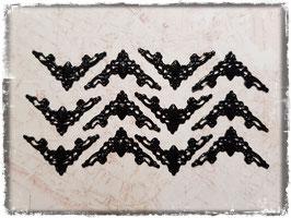 Buchecken - Vintage schwarz 317