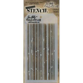 Tim Holtz-Stencil/Stripes-THS004