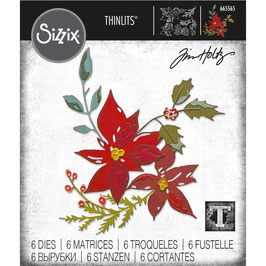 Sizzix by Tim Holtz Thinlits-Stanzform/Festive Bouquet
