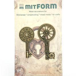 Mitform-Metall Charms/Keys 2