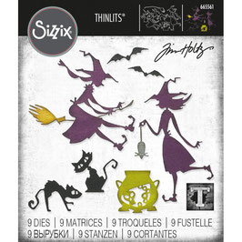 Sizzix by Tim Holtz Thinlits-Stanzform/Toil & Trouble